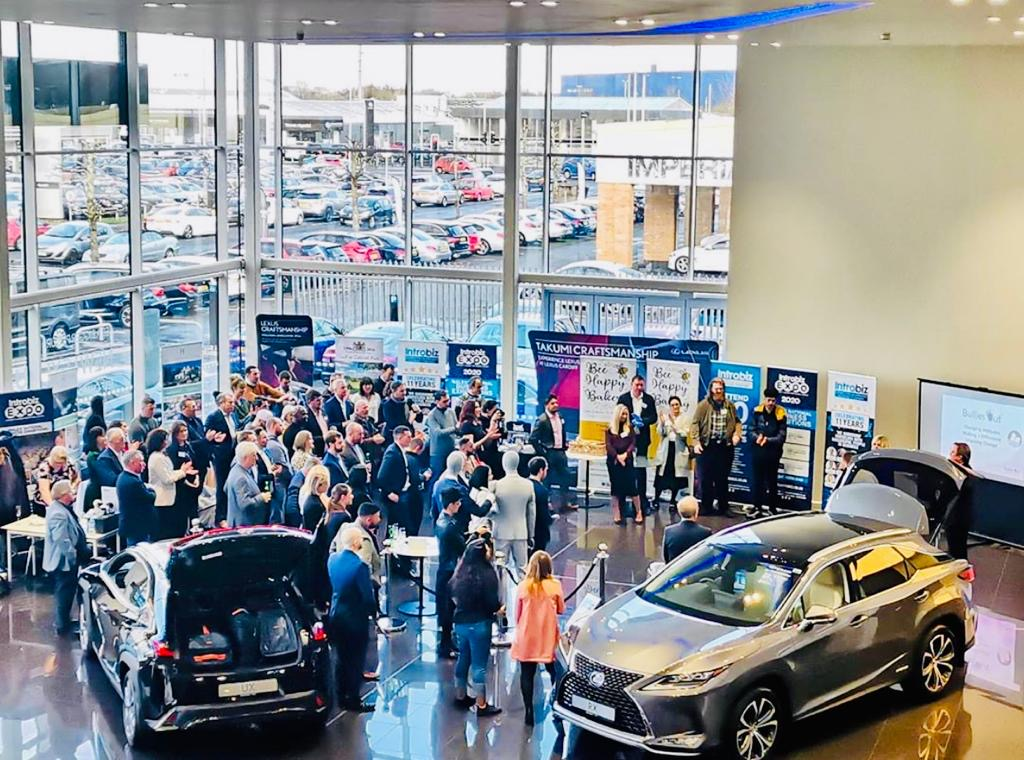 2041fb53 9a56 49fe 93e0 2201019628c5 - Introbiz VIP Event at Lexus Cars Cardiff (March 2020)