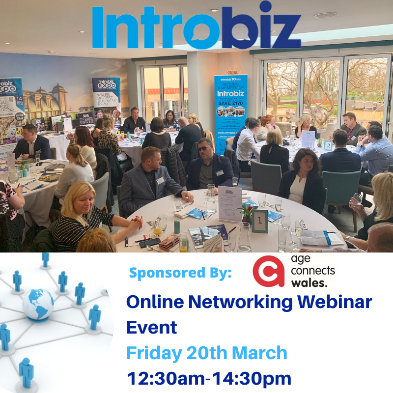20th webinar - Join Us for Our First Ever Online Networking Webinar