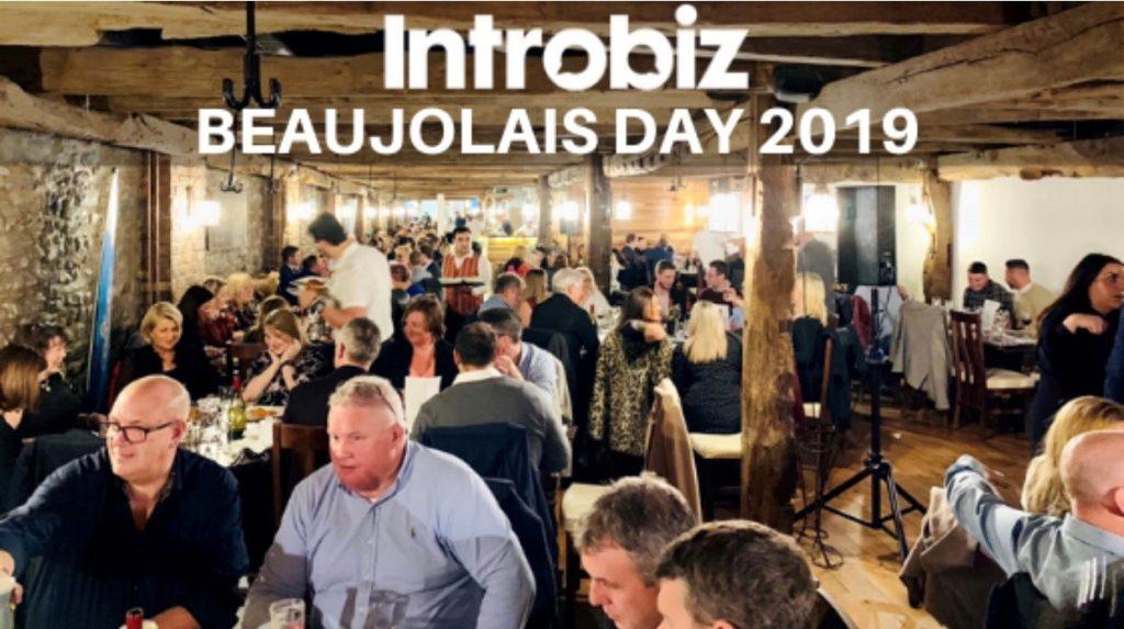 Beaujolais Day Charity 1024x573 - Introbiz Raise Over £20,000 in November