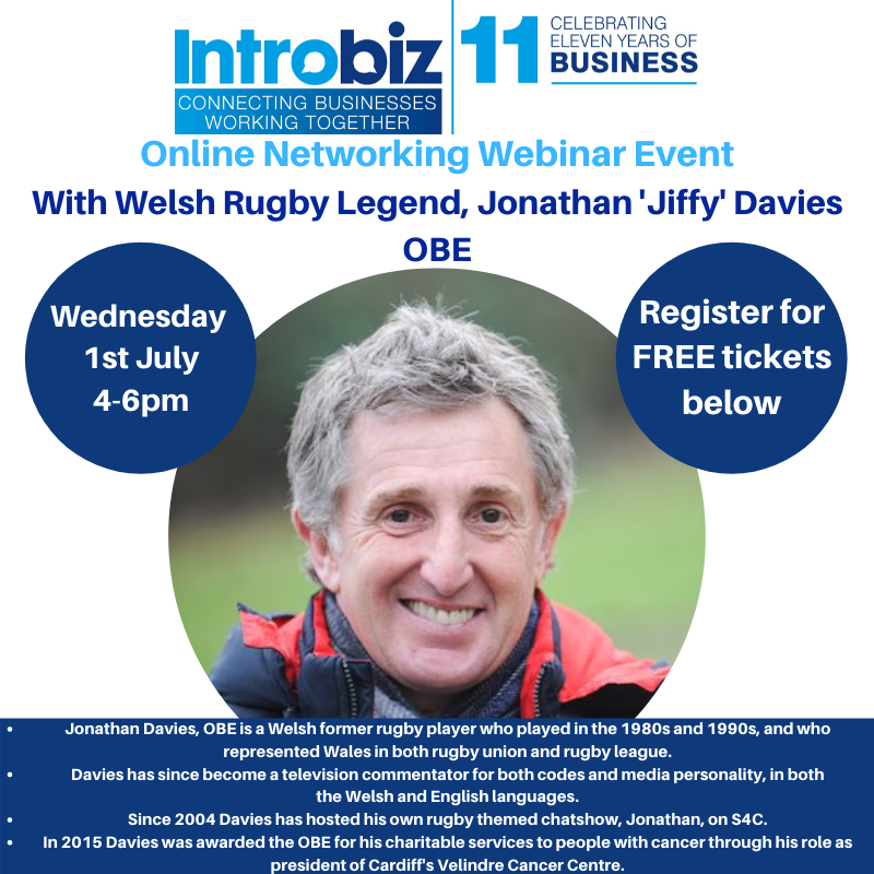 Introbiz Networking Breakfast Event Friday 31st January 7 30am 10 00am Hensol Castle 75 - Guest Speakers