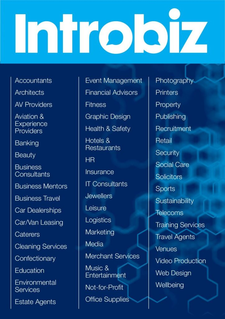 Introbiz Sector List for web 001 1 724x1024 - Business Sectors