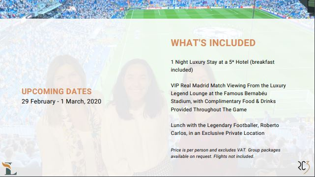 Page 5 - Introbiz Host Event at Real Madrid