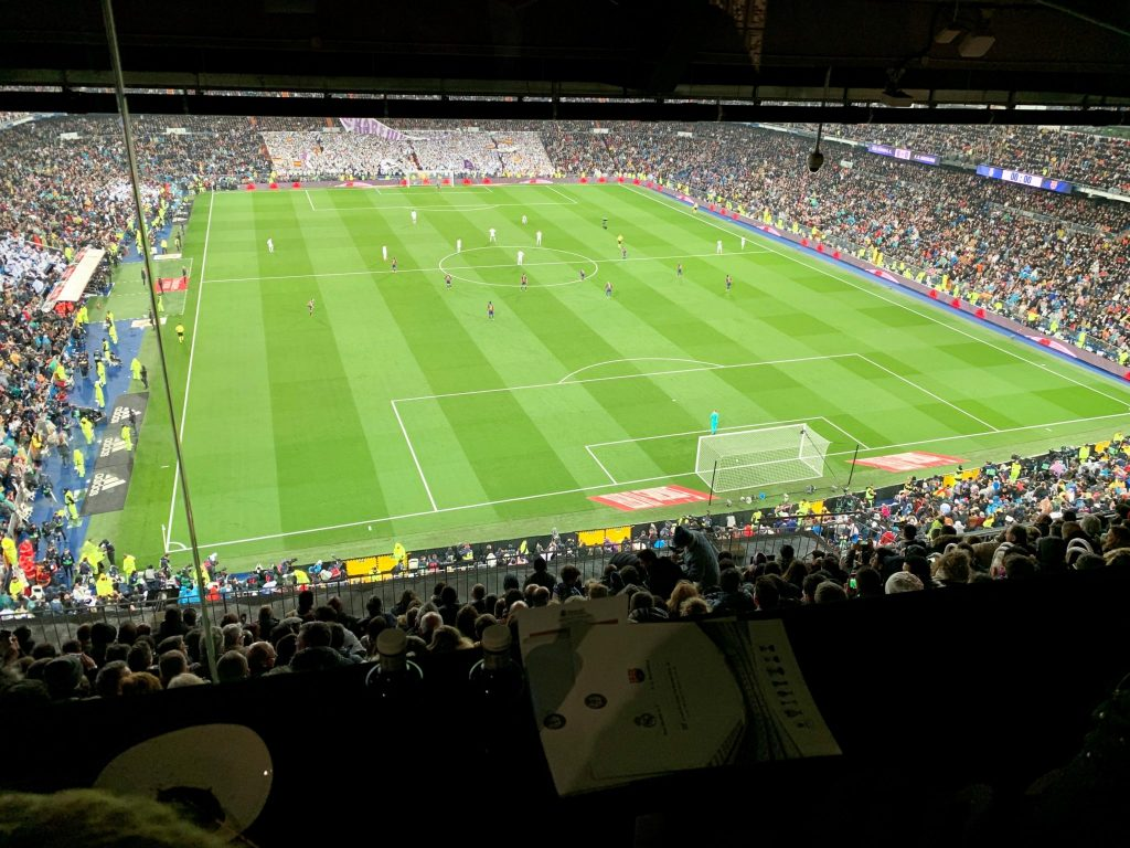 Pitch 1024x768 - Football Hospitality Event at Real Madrid