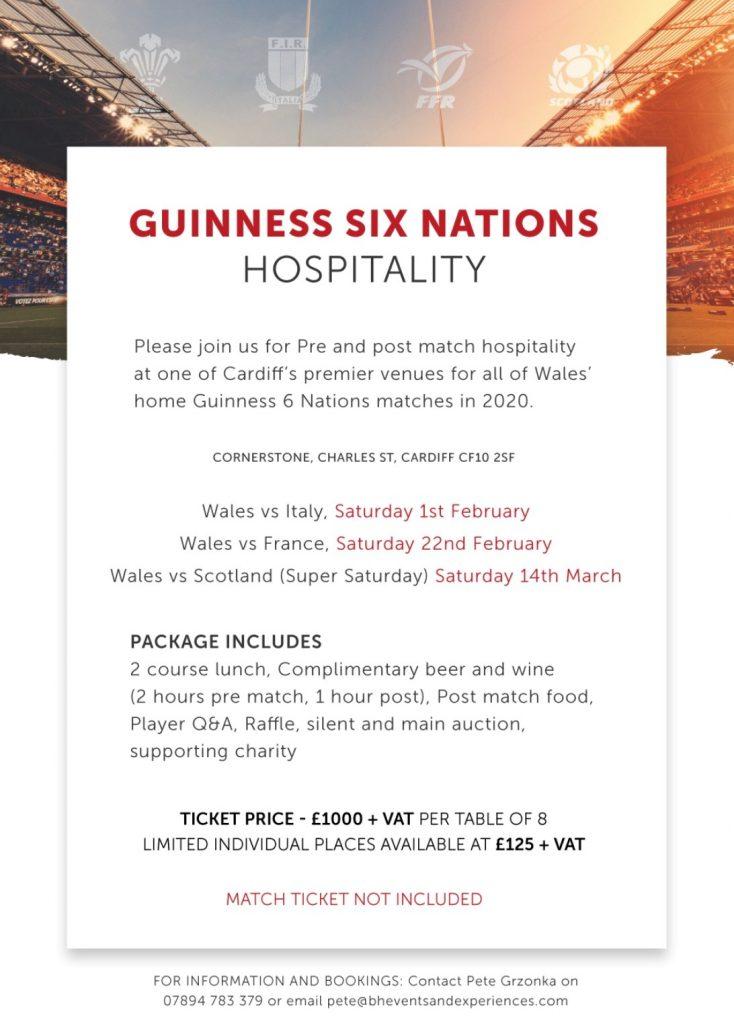 Six Nations Hospitality Flyer 734x1024 - Enjoy Six Nations Hospitality Events
