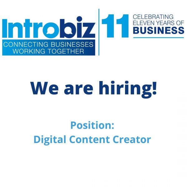 We are hiring 600x600 1 - We are hiring!