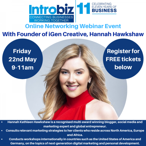 hannah hawkshaw - Guest Speakers