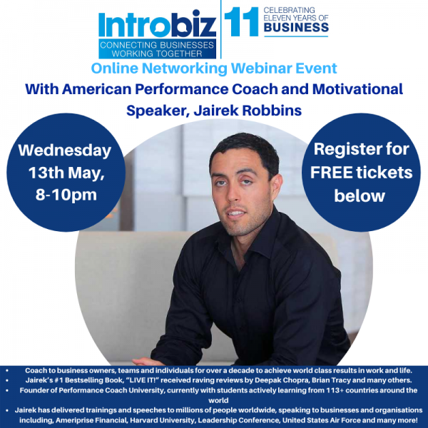 jairek robbins - Guest Speakers