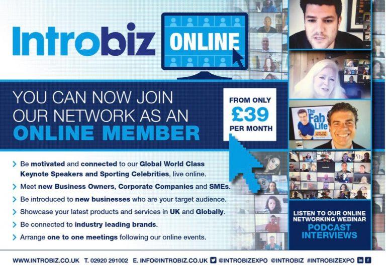 online networking - Introbiz welcomes global keynote speakers online