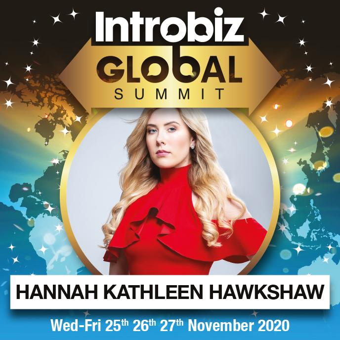 Online Global Speaker flyers 330x330px Chosen HANNAH - 2020 Speaker Line Up