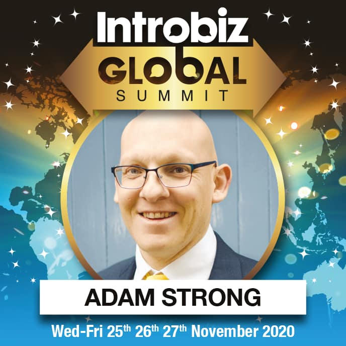 online Global Speaker ADAM STRONG - 2020 Speaker Line Up