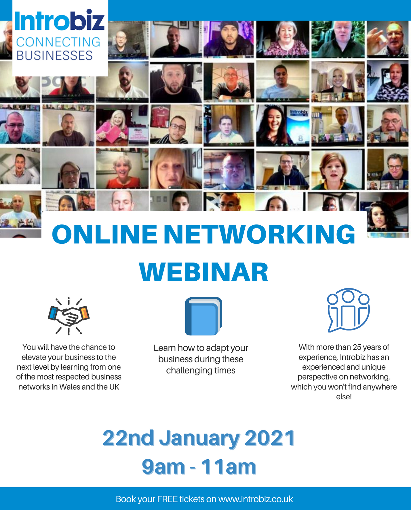 UK Business Online Networking Webinar with Introbiz