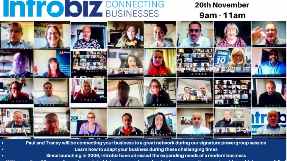 Wales & UK Online Networking Event hosted by Introbiz UK Ltd