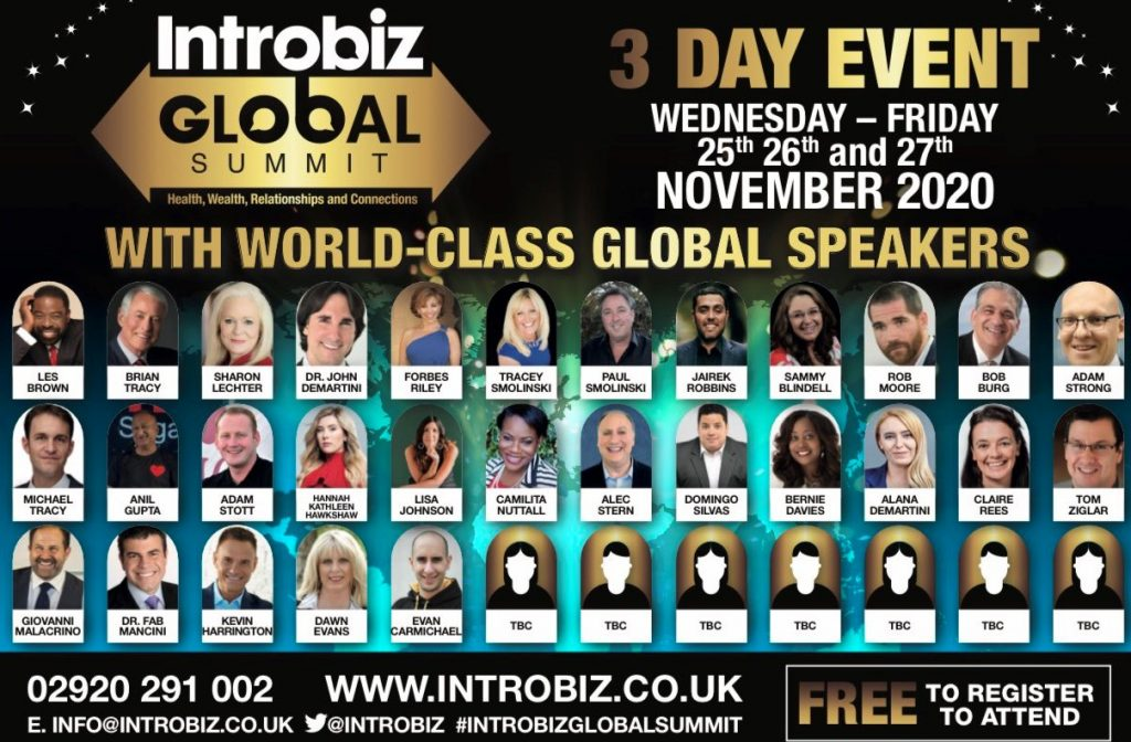 Introbiz Global Summit latest 2 1024x672 - Introbiz Global Summit Sponsorship Opportunities