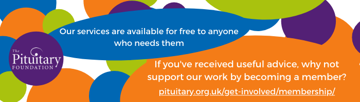 Pituitary Foundation Image - Help 'The Pituitary Foundation' to save lives!