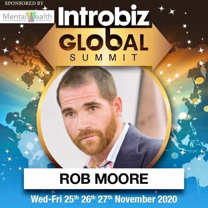 Rob Moore Sponsored Speaker 1 - Our Global Speakers list