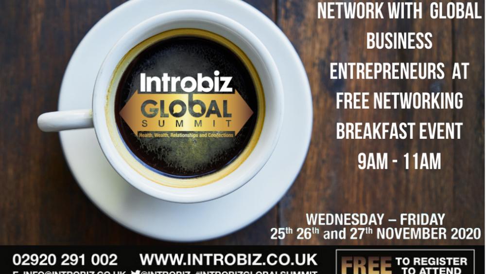 Introbiz Mega Pre-Summit Networking Breakfast Events