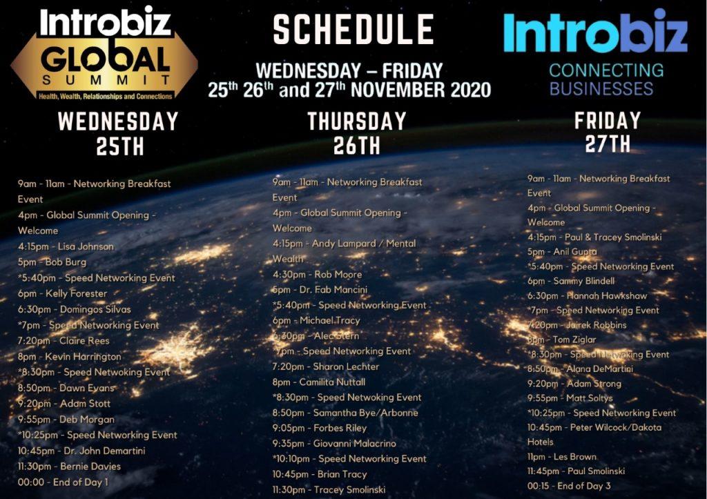 Schedule Final 1024x723 - The Introbiz Global Summit