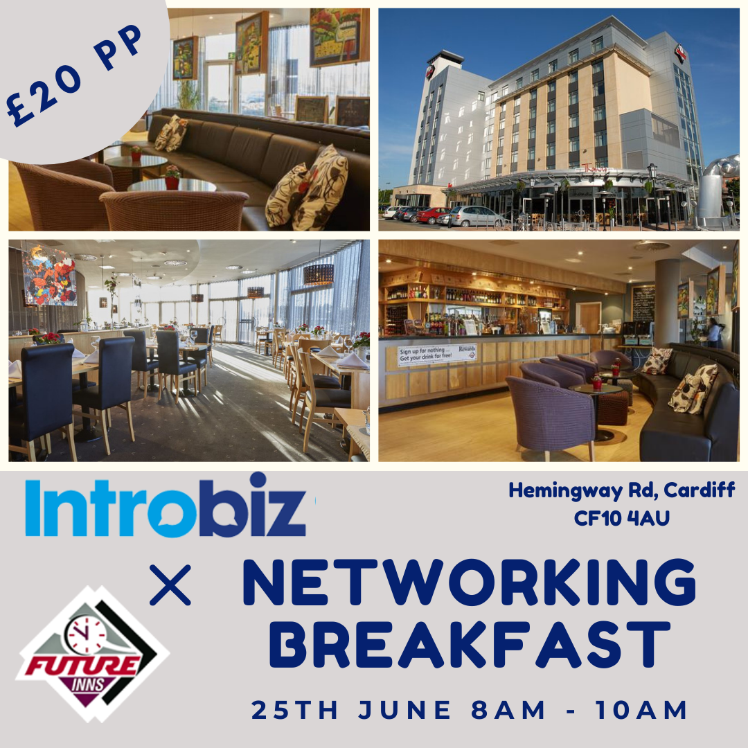 Introbiz x FutureInn Networking Breakfast Event 25/06